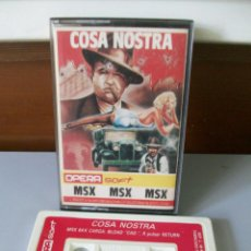 Videogiochi e Consoli: VIDEO JUEGO-COSA NOSTRA-MSX. Lote 217217791