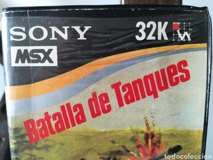Videojuegos y Consolas: Juego MSX Casete Cassette Batalla de Tanques/ Hit Bit, años 80 - Foto 5 - 217831457