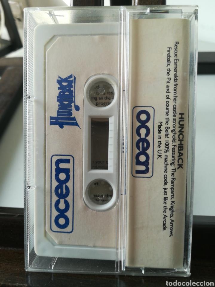Videojuegos y Consolas: Juego MSX casete cassette Hunchback/ Ocean, 1984 - Foto 2 - 217833616