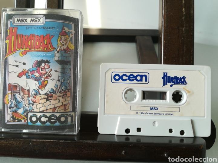 Videojuegos y Consolas: Juego MSX casete cassette Hunchback/ Ocean, 1984 - Foto 4 - 217833616