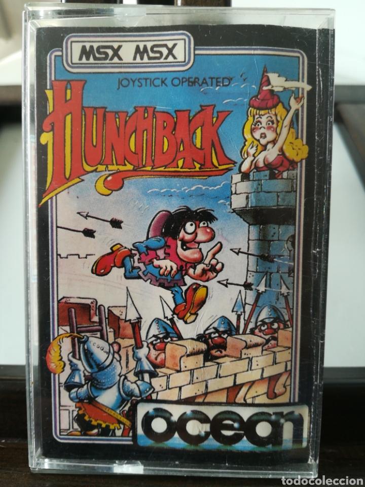 JUEGO MSX CASETE CASSETTE HUNCHBACK/ OCEAN, 1984 (Juguetes - Videojuegos y Consolas - Msx)