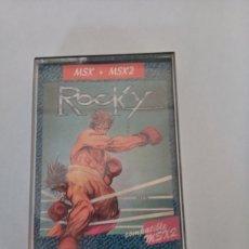 Videojuegos y Consolas: MSX-MSX2 ROCKY DINAMIC. Lote 217903217