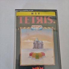 Videojuegos y Consolas: JUEGO PARA CONSOLA MSX TETRIS MIRROR SOFT. Lote 217903485
