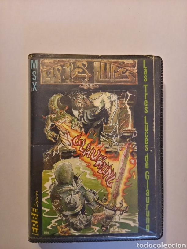 LAS TRES LUCES DE GLAURUNG VIDEOJUEGO DE MSX (Juguetes - Videojuegos y Consolas - Msx)