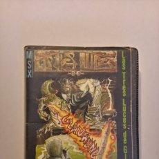 Videojuegos y Consolas: LAS TRES LUCES DE GLAURUNG VIDEOJUEGO DE MSX. Lote 218005113