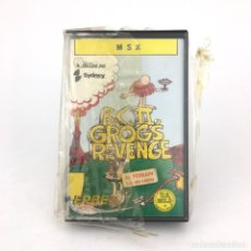 Videojuegos y Consolas: GROG´S REVENGE PRECINTADO * B. C. II ERBE U.S. GOLD RETRO INFORMATICA SONY HIT BIT MSX MSX2 CASSETTE. Lote 219567292