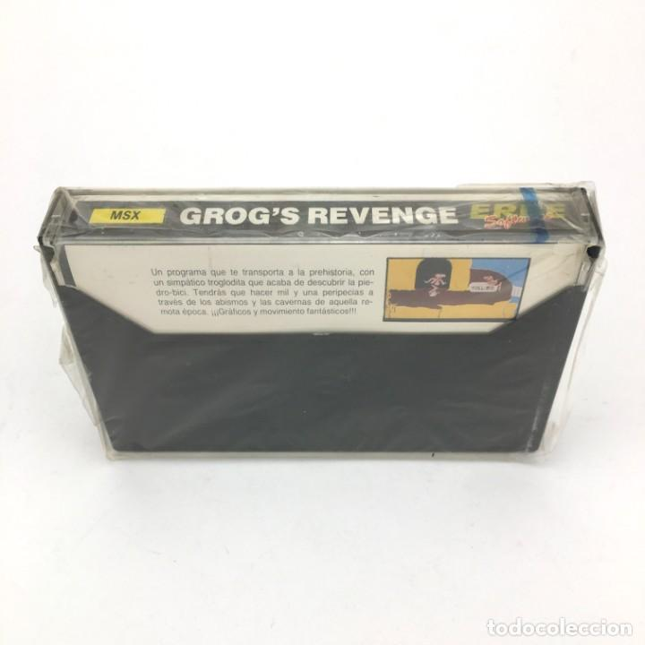 Videojuegos y Consolas: GROG´S REVENGE Precintado * B. C. II ERBE U.S. GOLD RETRO INFORMATICA SONY HIT BIT MSX MSX2 CASSETTE - Foto 2 - 219567292