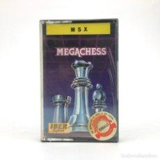 Videojuegos y Consolas: MEGACHESS PRECINTADO IBER SOFTWARE / MCM / AJEDREZ. RETRO INFORMATICA SONY HIT BIT MSX MSX2 CASSETTE. Lote 219567351