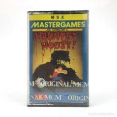 Videojuegos y Consolas: HAUNTED HOUSE PRECINTADO JOE KOWALSKI MCM NOS JUEGO RETRO INFORMATICA SONY HIT BIT MSX MSX2 CASSETTE. Lote 219567418