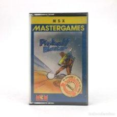 Videojuegos y Consolas: PINBALL BLASTER PRECINTADO MCM NIB NOS NUEVO JUEGO RETRO INFORMATICA SONY HIT BIT MSX MSX2 CASSETTE. Lote 219567437