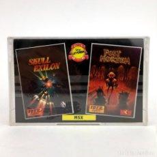 Videojuegos y Consolas: SKULL EXILION + POST MORTEM PRECINTADO IBER SOFTWARE MCM ESPAÑA RETRO SONY HIT BIT MSX MSX2 CASSETTE. Lote 219567450