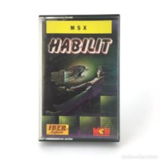 Videojuegos y Consolas: HABILIT EXCELENTE ESTADO IBER SOFTWARE MCM 88 JUEGO RETRO INFORMATICA SONY HIT BIT MSX MSX2 CASSETTE. Lote 219567737