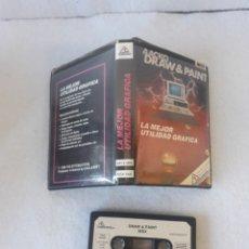 Jeux Vidéo et Consoles: MSX DRAW & PAINT. Lote 219913167