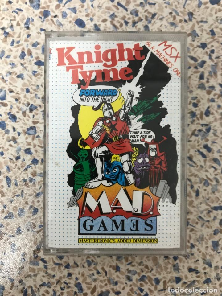 JUEGO MSX KNIGHT TYME MASTERTRONIC GAMES (Juguetes - Videojuegos y Consolas - Msx)