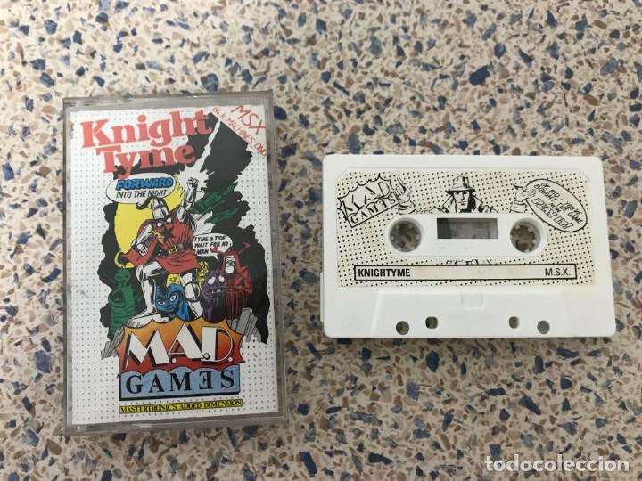 Videojuegos y Consolas: Juego Msx Knight Tyme Mastertronic Games - Foto 2 - 220400917
