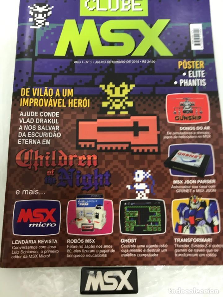 REVISTA MSX CLUBE N-2 (Juguetes - Videojuegos y Consolas - Msx)