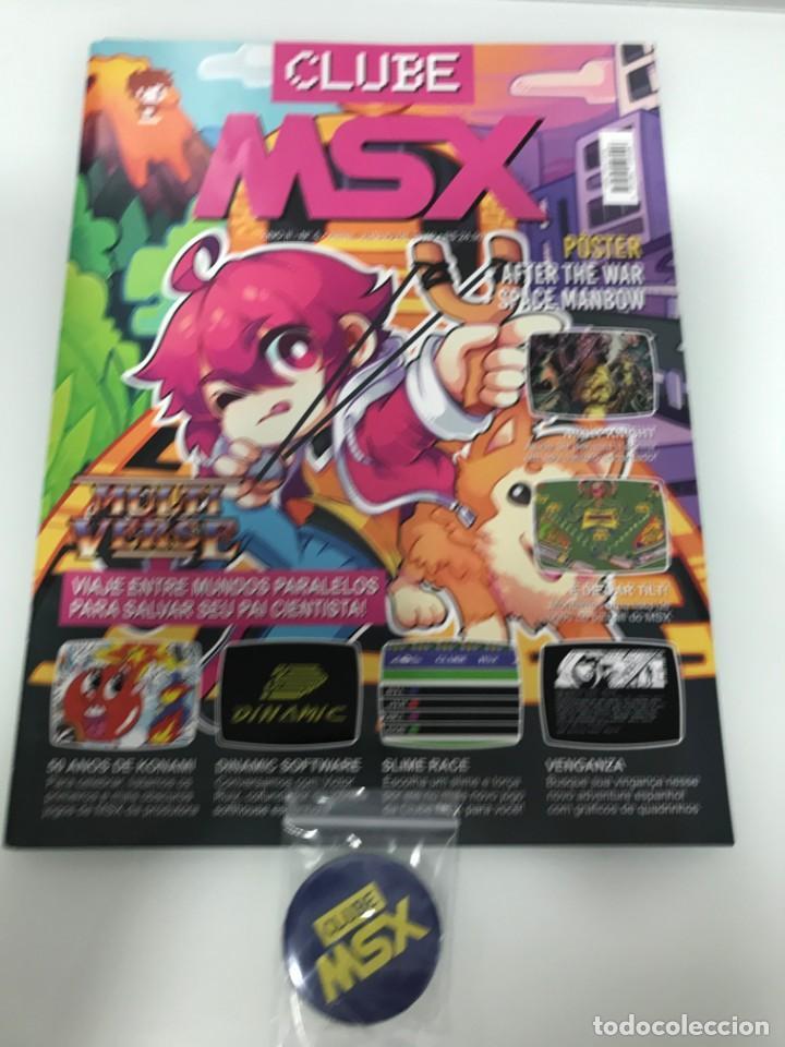 REVISTA MSX CLUBE N-5 (Juguetes - Videojuegos y Consolas - Msx)