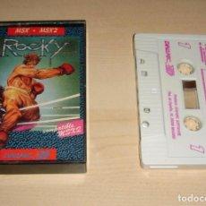 Videojuegos y Consolas: ROCKY PARA MSX. Lote 221723055