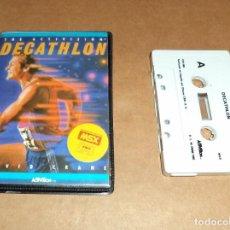 Videojuegos y Consolas: DAVID CRANE DECATHLON PARA MSX. Lote 221731803