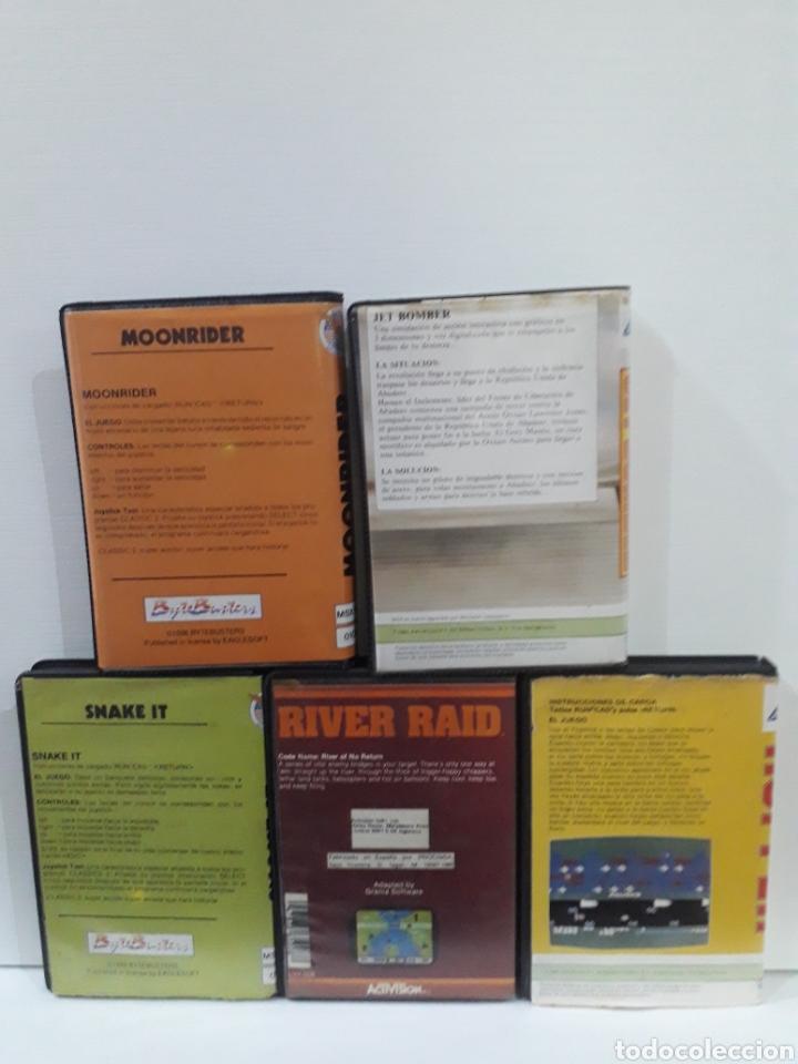 Videojuegos y Consolas: Lote videojuegos msx - Foto 2 - 221976746