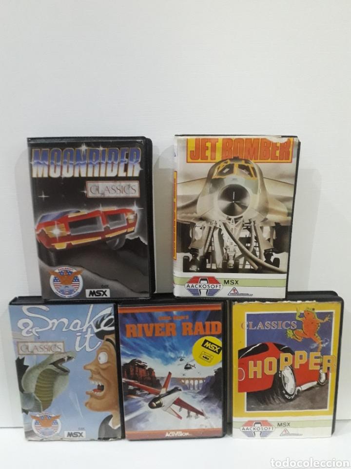 LOTE VIDEOJUEGOS MSX (Juguetes - Videojuegos y Consolas - Msx)