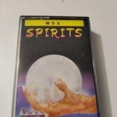 Videojuegos y Consolas: SPIRITS MSX. Lote 222261012