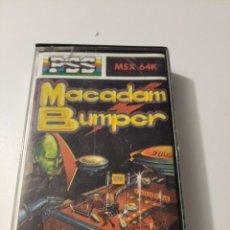 Videojuegos y Consolas: MACADAM BUMPER MSX. Lote 222261546