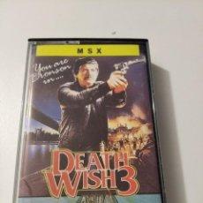 Videojuegos y Consolas: DEATH WISH 3 MSX. Lote 222262045