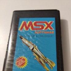 Videojuegos y Consolas: ATAQUE A LOS DIQUES MSX. Lote 222262442
