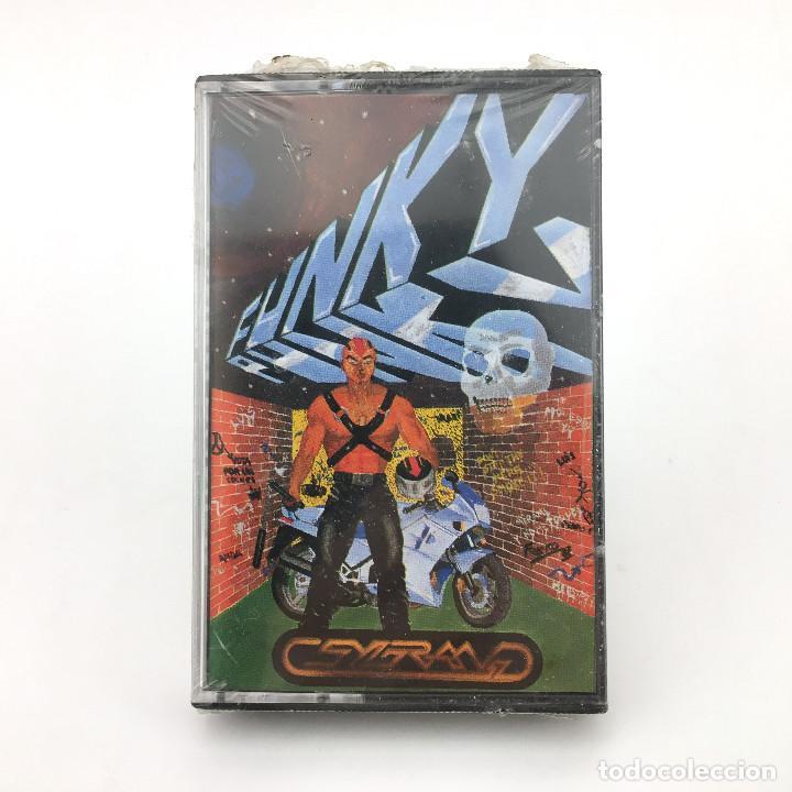 FUNKY PUNKY PRECINTADO MSX MSX2 GRUPO SYGRAN PJ SOFT GENESIS AGD CASSETTE RARA CINTA ORDENADOR FANKY (Juguetes - Videojuegos y Consolas - Msx)