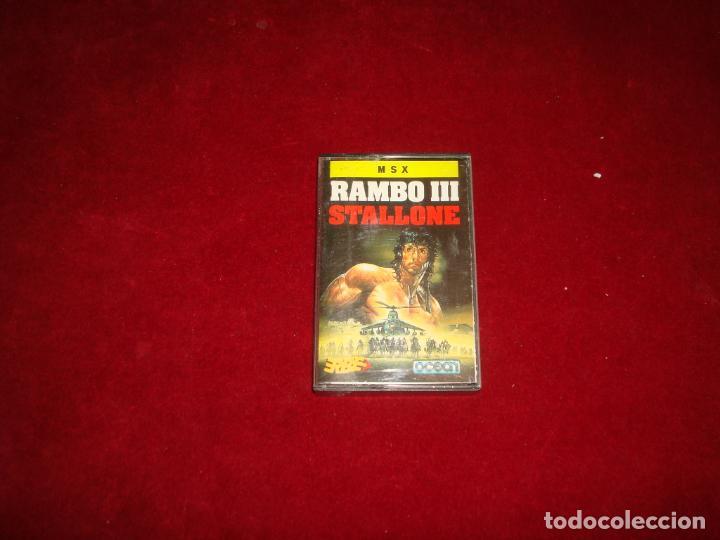 MSX RAMBO III (Juguetes - Videojuegos y Consolas - Msx)