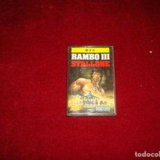 Videojuegos y Consolas: MSX RAMBO III. Lote 243659365