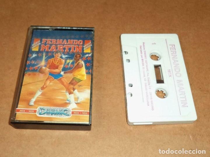 FERNANDO MARTIN BASKET MASTER PARA MSX (Juguetes - Videojuegos y Consolas - Msx)