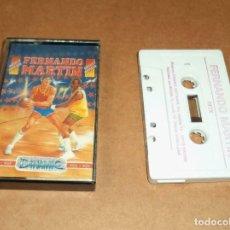 Videojuegos y Consolas: FERNANDO MARTIN BASKET MASTER PARA MSX. Lote 224680510