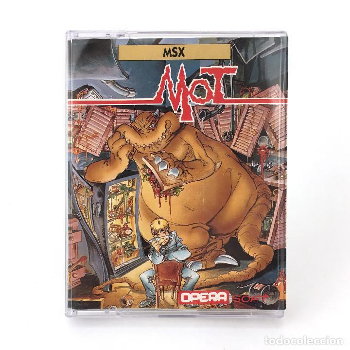 MOT - OPERA SOFT ESPAÑA ALFONSO AZPIRI Y NACHO 1989 JUEGO EN CINTA PARA ORDENADOR MSX CASSETTE MSX2 (Juguetes - Videojuegos y Consolas - Msx)
