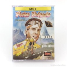 Videojuegos y Consolas: PERICO DELGADO MAILLOT AMARILLO TOPO SOFT CICLISMO INDURAIN TOUR DE FRANCIA JUEGO CINTA MSX CASSETTE. Lote 229241265