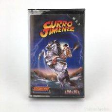 Videojuegos y Consolas: CURRO JIMENEZ / ZIGURAT – ARCADIA - ESPAÑA 1989 BANDOLERO JUEGO ESPAÑOL CINTA TAPE MSX2 CASSETTE MSX. Lote 229674150