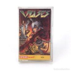 Videojuegos y Consolas: ULISES / OPERA SOFT ESPAÑA 1989 / MITOLOGIA ARCADE COMIX ALFONSO AZPIRI MSX CASSETTE MUY BUEN ESTADO. Lote 230152335