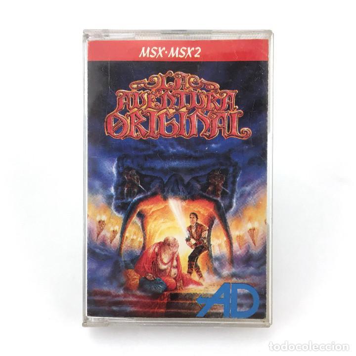 LA AVENTURA ORIGINAL DINAMIC SOFTWARE AVENTURAS AD 1989 CONVERSACIONAL TEXTO CINTA MSX2 MSX CASSETTE (Juguetes - Videojuegos y Consolas - Msx)