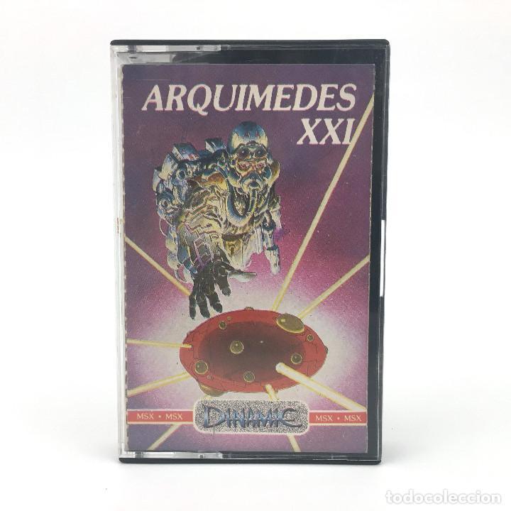 ARQUIMEDES XXI AVENTURA CONVERSACIONAL DINAMIC SOFTWARE ALFONSO AZPIRI 1986 CINTA MSX2 MSX CASSETTE (Juguetes - Videojuegos y Consolas - Msx)