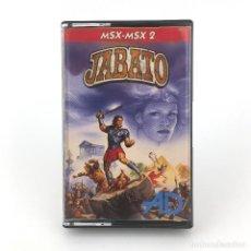 Videojuegos y Consolas: JABATO DINAMIC SOFTWARE ESPAÑA 1989 AVENTURAS AD CONVERSACIONAL TRUENO JUEGO CINTA MSX2 MSX CASSETTE. Lote 230644360