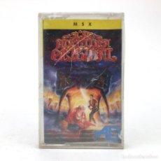 Videojuegos y Consolas: LA AVENTURA ORIGINAL PRECINTADO DINAMIC SOFTWARE AVENTURAS AD 1989 CONVERSACIONAL TEXTO MSX CASSETTE. Lote 230644745