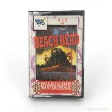 Videogiochi e Consoli: BEACH HEAD - DRO SOFT ESPAÑA / MASTERTRONIC 1988 MANIOBRA EJERCITO FLOTA DE GUERRA MSX2 MSX CASSETTE. Lote 230799190
