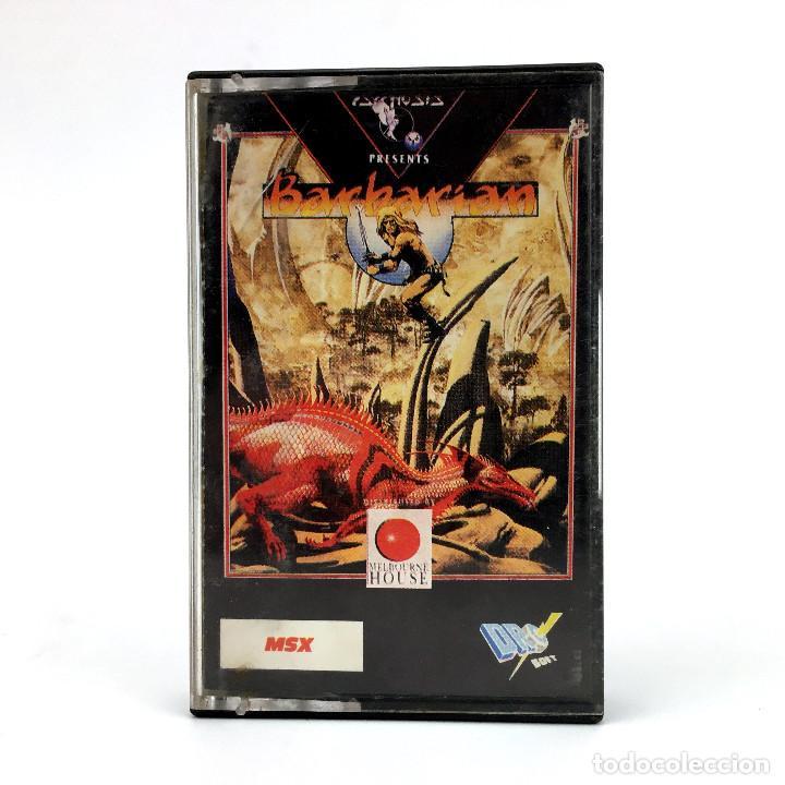 BARBARIAN - DRO SOFT ESPAÑA - PSYGNOSIS - MELBOURNE HOUSE 1989 JUEGO CONAN BARBARO MSX2 MSX CASSETTE (Juguetes - Videojuegos y Consolas - Msx)