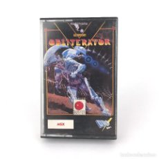 Videojuegos y Consolas: OBLITERATOR - DRO SOFT ESPAÑA / PSYGNOSIS / MELBOURNE HOUSE 1989 ALIEN CYBER JUEGO MSX2 MSX CASSETTE. Lote 230801890