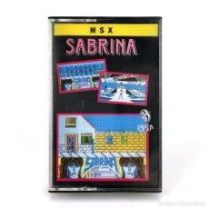 Videojuegos y Consolas: SABRINA PRECINTADO. IBER SOFTWARE GENESIS 1988 SALERNO BOYS SEXY HOT GIRL SALERNO JUEGO MSX CASSETTE. Lote 230802745