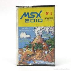 Videojuegos y Consolas: LA ISLA MISTERIOSA / MSX 2010 Nº 1 EDISOFT ESPAÑA 1985 PROGRAMA DIDACTICO. JUEGO CINTA MSX2 CASSETTE. Lote 231244055