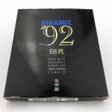 Videojuegos y Consolas: DINAMIC 92 PACK LOS TEMPLOS SAGRADOS HAMMER BOY MEGAPHOENIX NARCOPOLICE ASPAR GT MASTER CASSETTE MSX. Lote 231875670