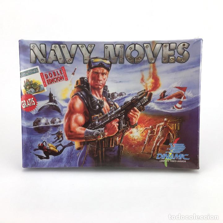 NAVY MOVES * PRECINTADO. DINAMIC SOFTWARE 1988 ALFONSO AZPIRI ARMY ARCTIC AFTER THE WAR MSX CASSETTE (Juguetes - Videojuegos y Consolas - Msx)