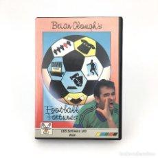 Videojuegos y Consolas: BRIAN CLOUGH´S FOOTBALL FORTUNES. RAREZA CON JUEGO DE MESA COMPLETO CDS SOFTWARE FUTBOL MSX CASSETTE. Lote 231893620